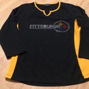 Marvel fashion Pittsburgh Steelers Long Sleeve Top